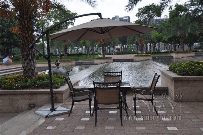 3 meter aluminum outdoor sun patio umbrella parasol garden furniture cover  sunshade 360 degrees rotation. Popular Parasol Garden Umbrella Buy Cheap Parasol Garden Umbrella