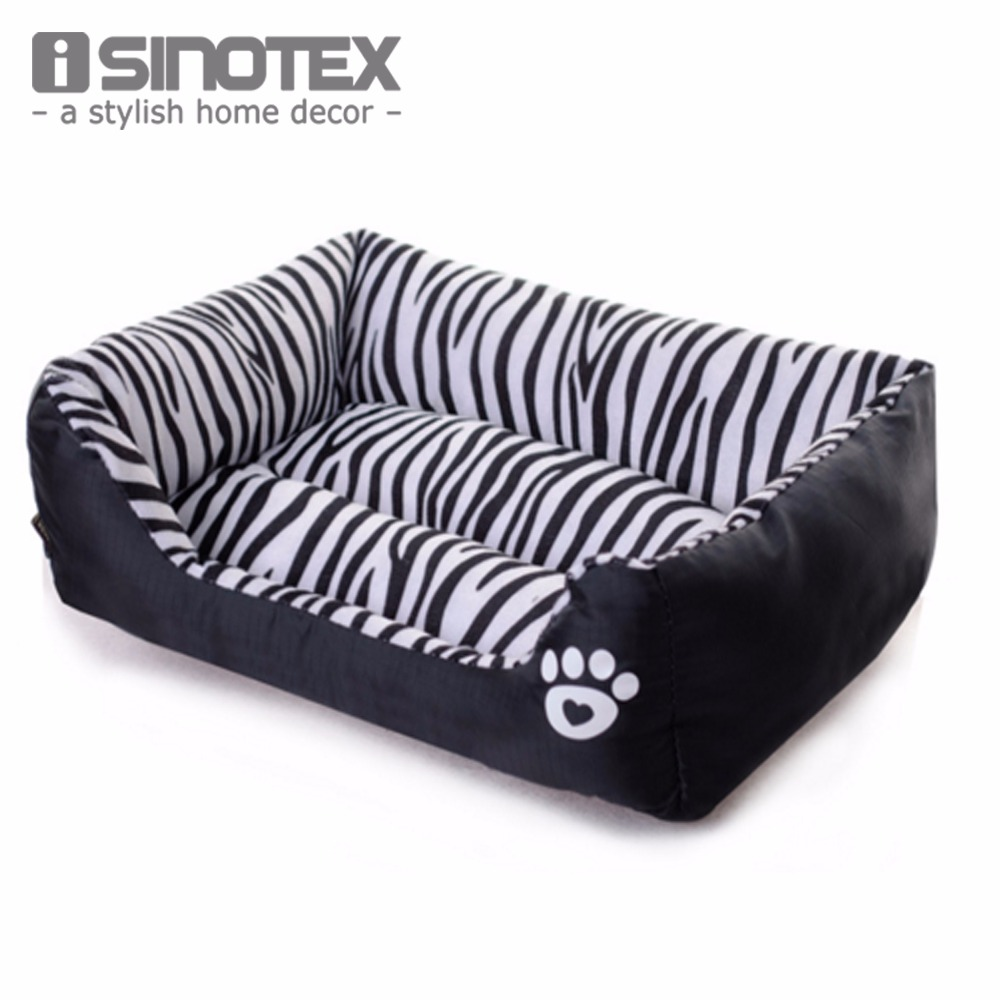 Waterproof Pet Bed Zebra Patterns Sweety Dog House Moistureproof Keep Clean Pets Bed Home Voor katten