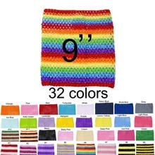 1pc Crochet Tutu Top Tube Top 9inch Crochet Headband Tutu Bands girls pettiskirt Tutu Tops For Tutu Dresses