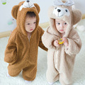 Winter new explosion of super adorable children's disco Bear Plush romper suit conjoined baby climb Home Furnishing wear pajamas