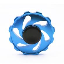 Fidget Spinner Triangle Single Finger Decompression Gyro Anti-stress Hand Spinner Fingertip Colour Gyro Hot 2017 may09