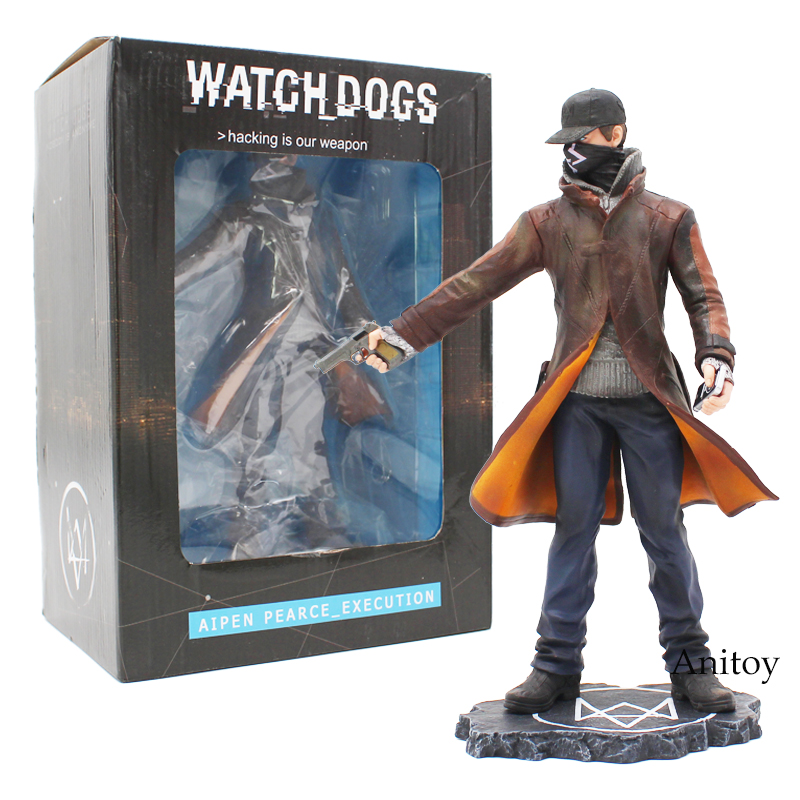 Eden Pierce Watch Dogs Aipen Pearce_Execution PVC Action Figure Model Toy Gift 23cm watch dogs ключ стим