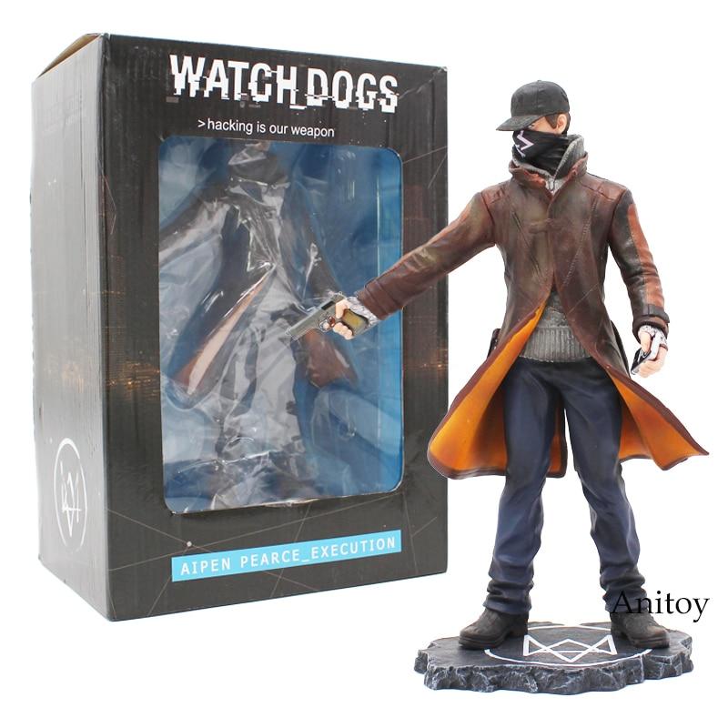 Eden Pierce Watch Dogs Aipen Pearce_Execution PVC Action Figure Model Toy Gift 23cm напольный вентилятор eden edc 1625