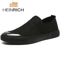 HEINRICH/2018 г.; модная мужская повседневная обувь; сезон весна лето; Новая мужская обувь; удобная парусиновая обувь; Tenis; повседневная обувь; Masculino
