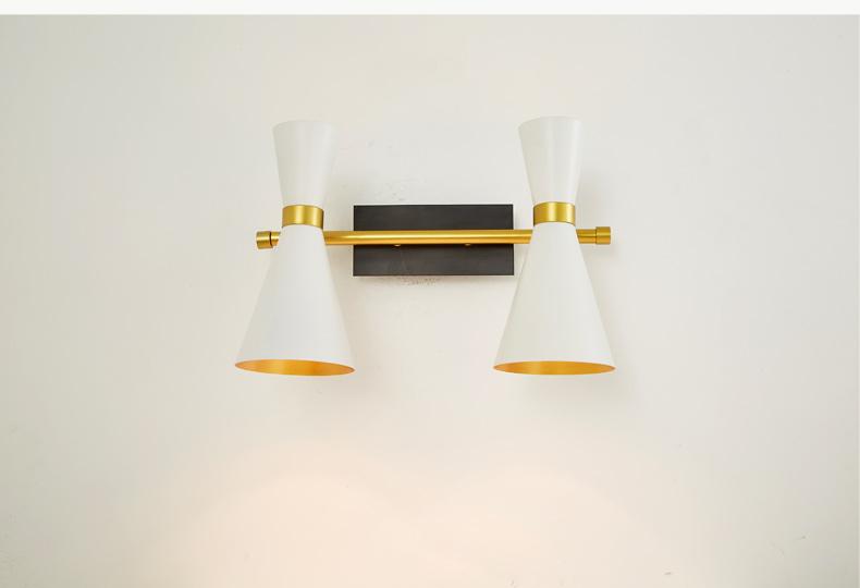 Lampada di design moderno applique da parete camera da letto cucina