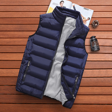 Vocni Mens Down Vest Lightweight Full Zip Warm Sleeveless Jacket Puffer Vest