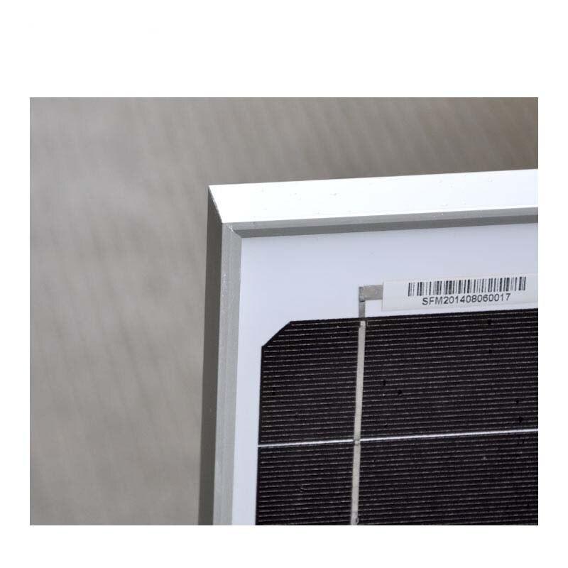 Kit Solar Plate 12v 60w Solar Battery Charger Solar Controller 12v/24v 10A LCD Marine Mobile Phone Caravan Car Lamp Led Light