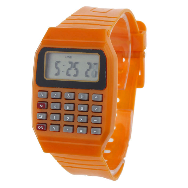 Silicone Kids Watch Boys Girls Sports Watches Montre Enfant Garcon Fille Reloj Ninos Relogio Infantil Digital Watch For Children
