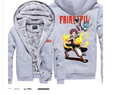 Mode Anime Fairy Tail Natsu Verdicken Fleece Alle Mitglied Lucy Grau ...