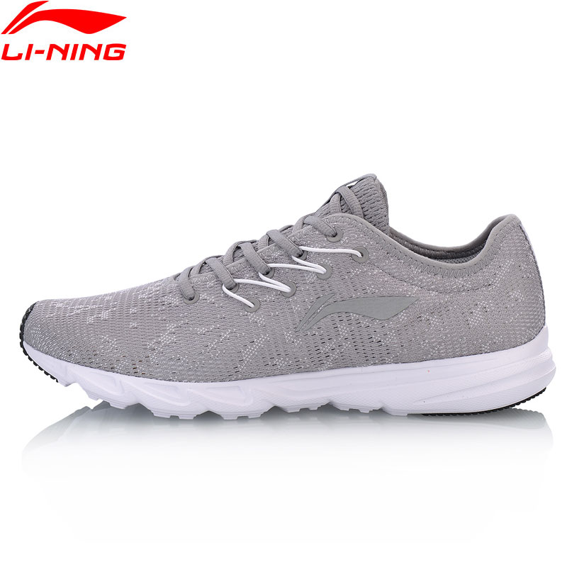 Li Ning Men Light Runner Running Shoes Breathable Wearable LiNing Light Weight Sports Shoes Sneakers ARBN021