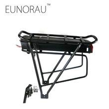 Gratis verzending 36V17Ah 1203 zwart bagagedrager batterij voor elektrische fiets