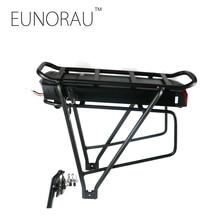 Бесплатная доставка 36V17Ah 1203 черный сзади стойки батарея для электрических велосипед elektrische fiets batterij