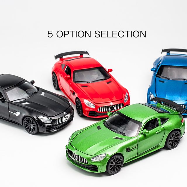 Mercedes Benz AMG GT Diecast 1/32 Car Model Die Cast With Sound & Light Effect