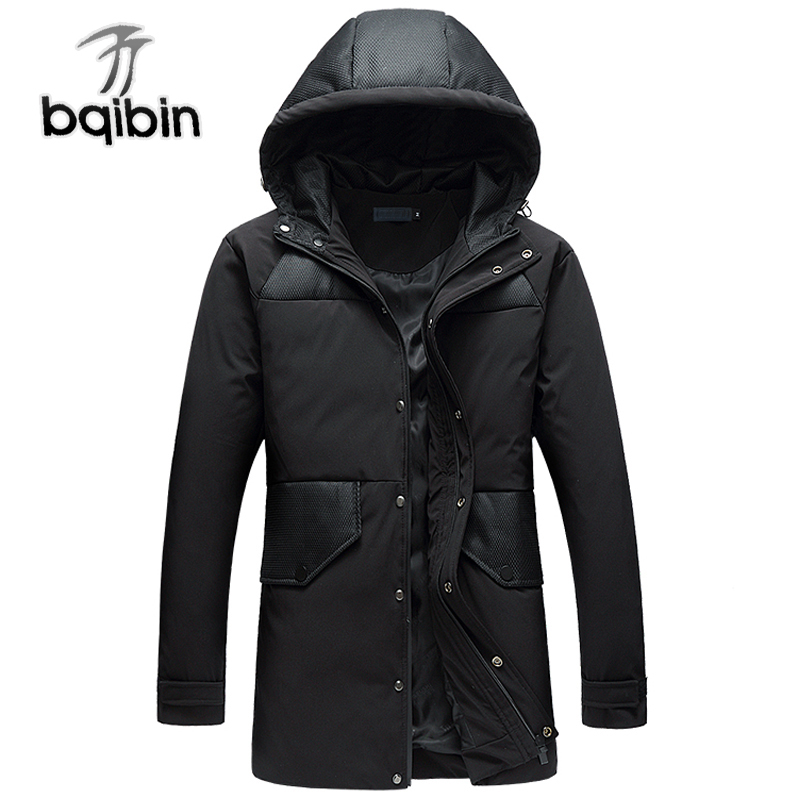88f17241d523b 2018 New Arrival Thick Winter Down Jacket Men Warm Fashion Brand Clothing  Quality Long Male 90% White Duck Coat Plus Size