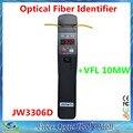 Garantía de tres años JW3306D Vivo Identificador De Fibra de Alto Rendimiento Identificador De Fibra Óptica Incorporado 10 mW Localizador Visual de Fallos