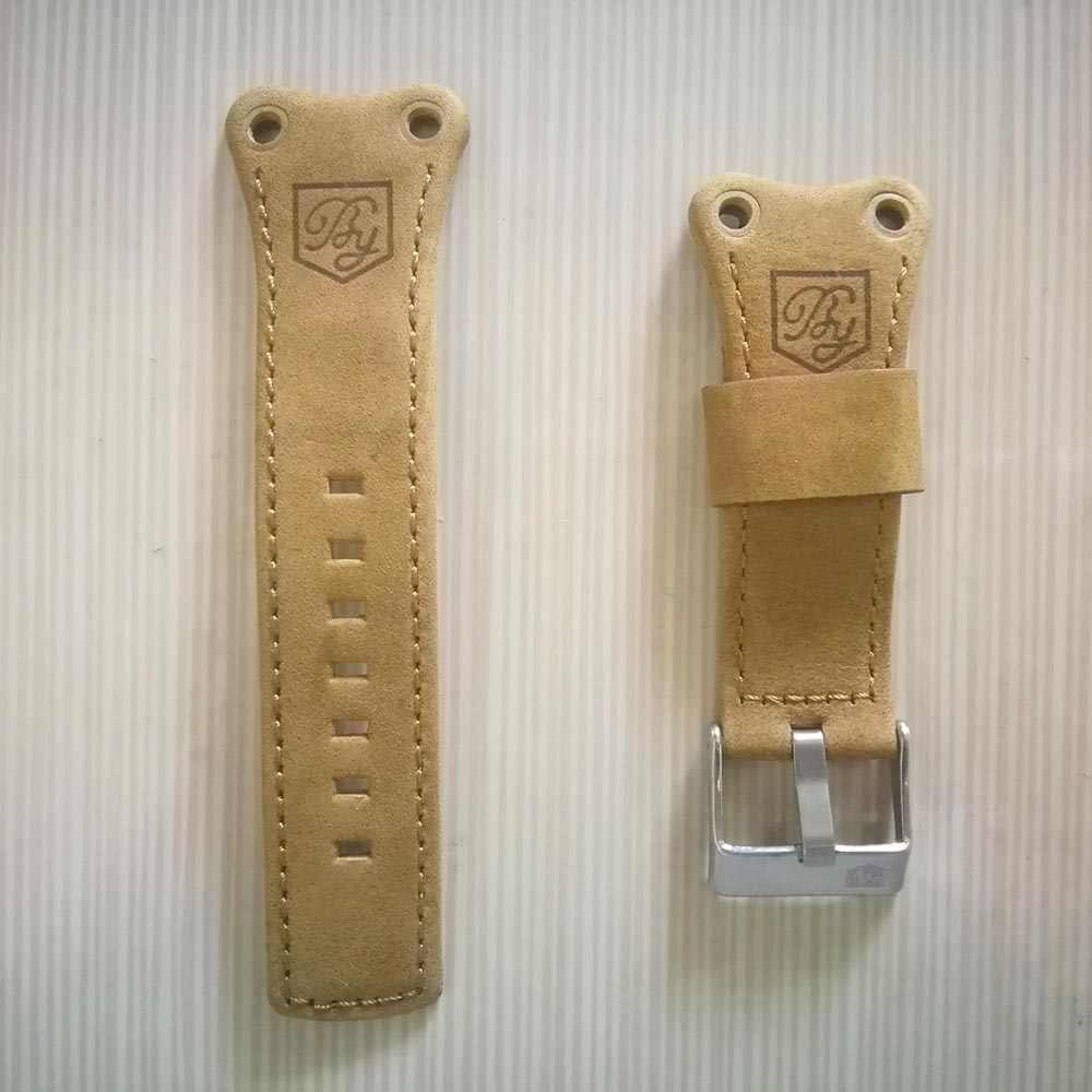 Benyar 5112 BY-5110M BY-5112M Horloge Bands Lederen Horlogebandje
