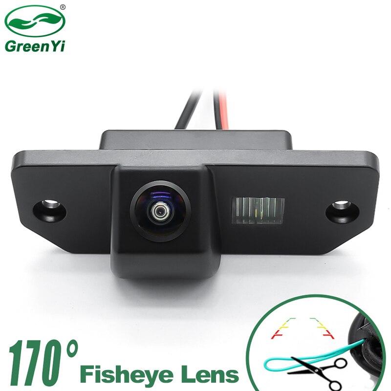 HD 170 градусов 1280P рыбий глаз MCCD объектив звездный свет ночное видение Автомобильная камера заднего вида для Ford Focus 2 Sedan 2005-2011 C-Max