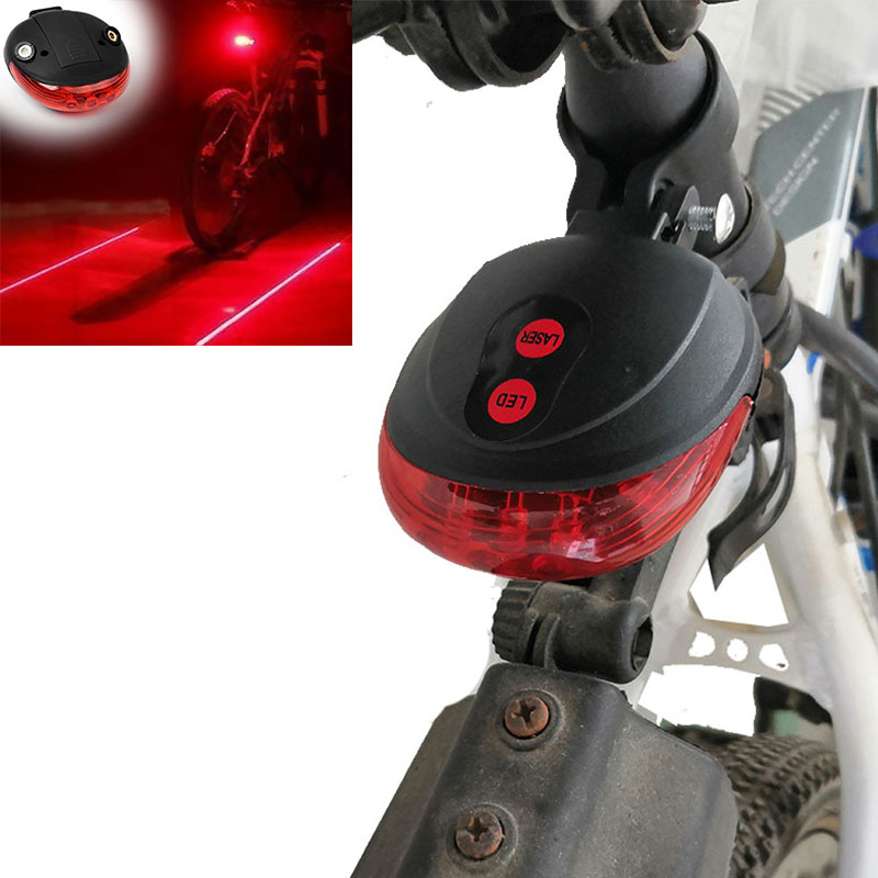 Bicycle Light Safety Bike Tail Lights Lamp 7 Cool Flash Modes Bike Rear Light Bycicle Lights Warning Cycling Accessories Lamp