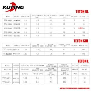 Image 2 - KUYING TETON 1.56m 1.8m 1.86m 1.9m 1.92m 1.98m Super Ultra Soft Light Baitcasting Casting Spinning Lure Fishing Rod Pole Combo