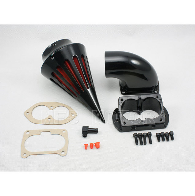 Acessórios da motocicleta Air Cleaner Kit Filtro Para Kawasaki Vulcan 1500/1600 bomba de Combustível 2002 2003 2004 2005 2006 2007 2008 2009 Preto