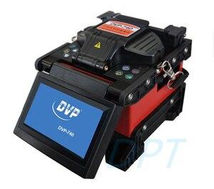 Image 4 - متعدد اللغات 100% الأصلي العلامة التجارية الجديدة DVP740 الألياف البصرية قوس الانصهار جهاز الربط FTTx / FTTH الألياف البصرية الربط آلة DVP 740