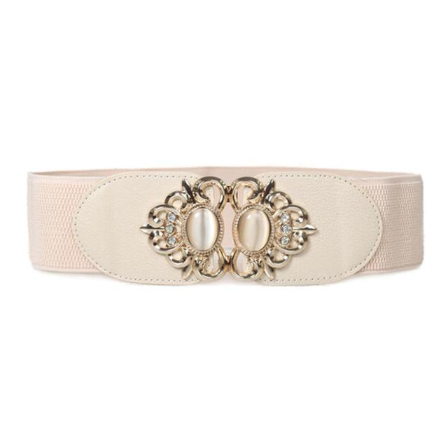 Variety of Women Floral Clasp Stretchable Waist Belts