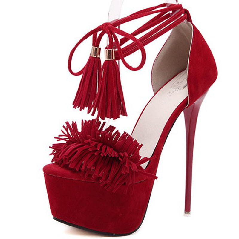 Popular Red Strappy Heels-Buy Cheap Red Strappy Heels lots from ...