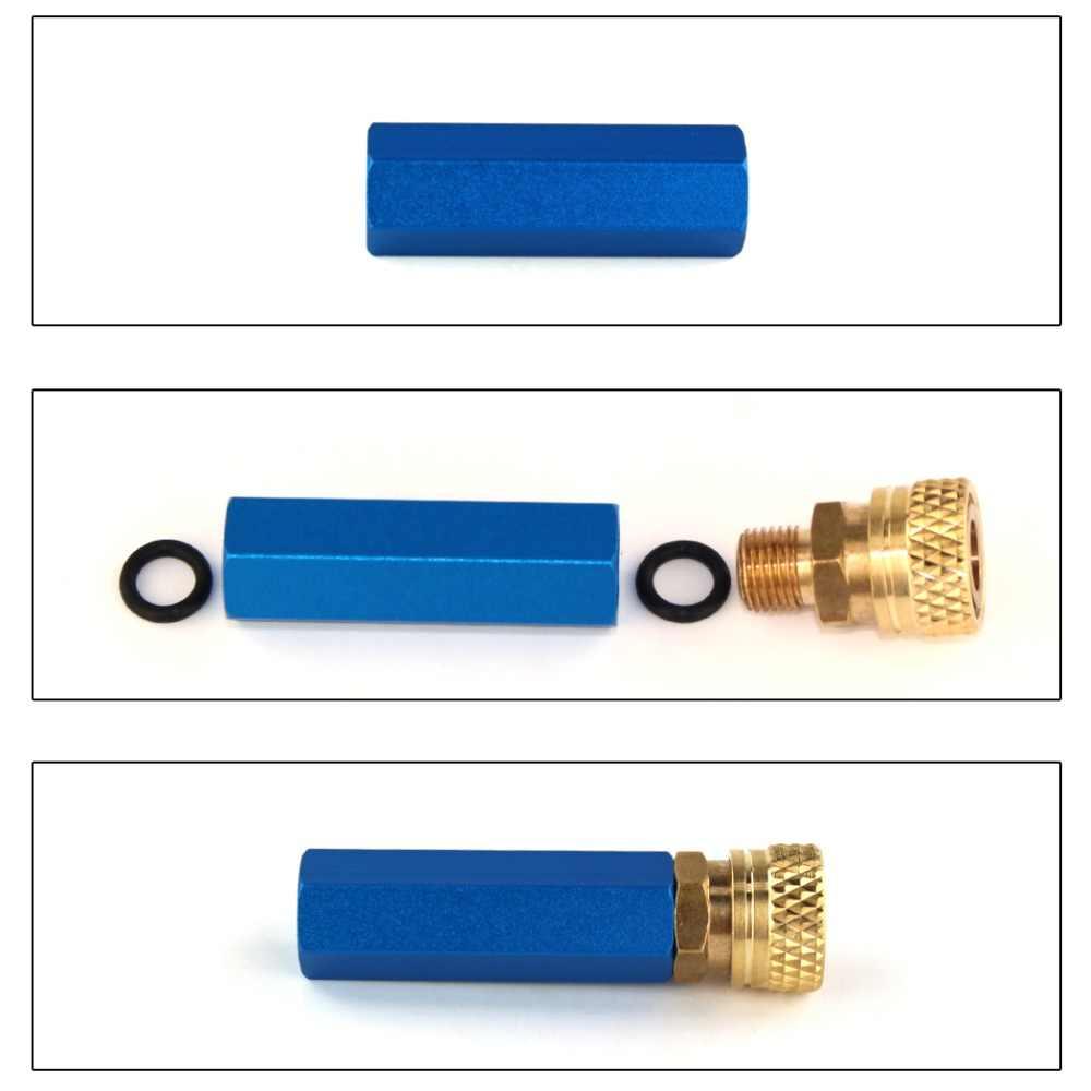 Filtro de bomba de Paintball PCP separador de agua y aceite de alta presión filtro de aire de 8 MM 30 MPa 4500psi M10x1 rosca de 50 cm manguera