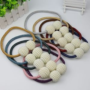 Image 4 - 1x Pearl Magnetic Curtain Clip Curtain Holders Tieback Buckle Clips Hanging Ball Buckle Tie Back Curtain Accessories Home Decor