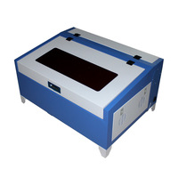 LY 3040/4030 40W CO2 Laser Cutting Engraving Machine with rotary axis for wood plastic and so on
