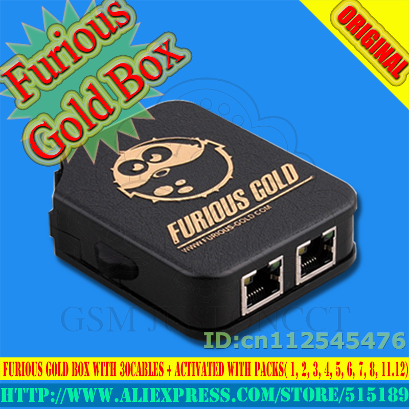US $302 8  2018 The newest original Furious Gold Box 1ST CLASS with 30  cables + Activated with Packs( 1, 2, 3, 4, 5, 6, 7, 8, 11,12)-in Telecom  Parts