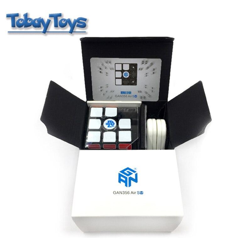 Cube magique Gan 356Air SM vitesse concours créatif Rubi's avec Gan magnétique classique 3x3 Cube jouets 356 Air SM Cubo De Rabie Cube - 3