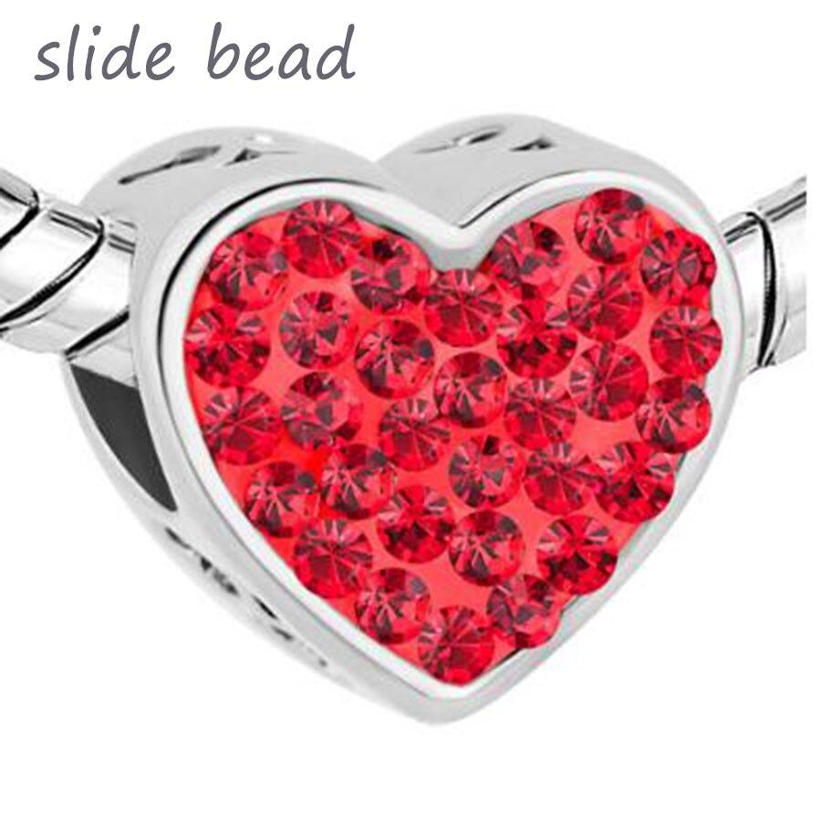 coeur pandora rouge