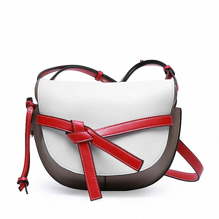 Women\'S Genuine Leather Crossbody Bags Shoulder Bag Casual Female Messenger Bags -KG103