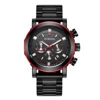 OCHSTIN Mens Business Watches Top Brand Luxury Waterproof Chronograph Watch Man Steel Sport Quartz Wrist Watch