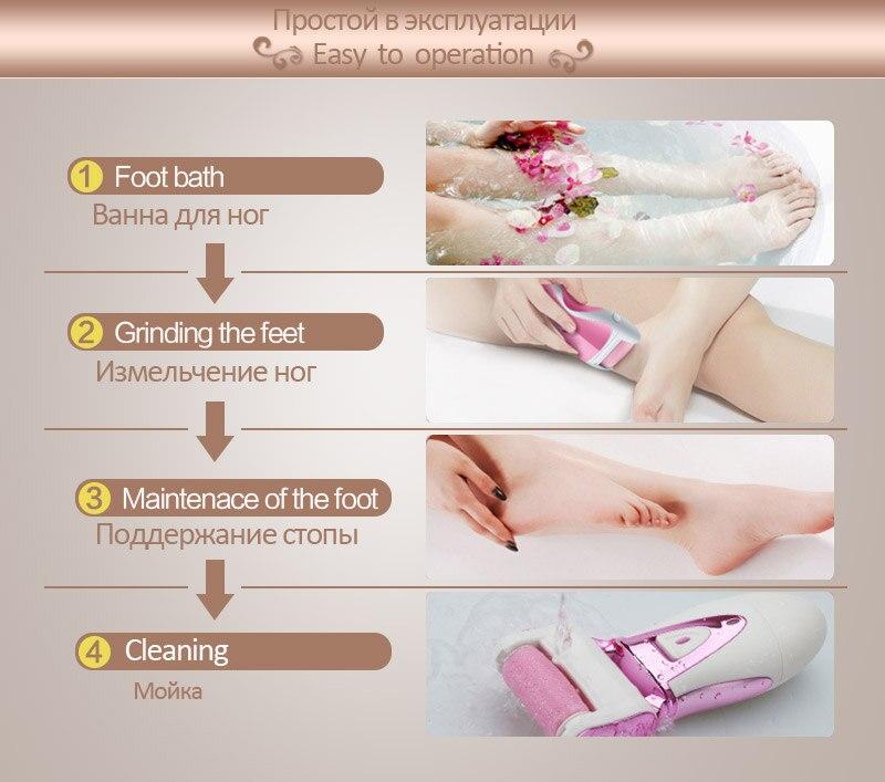 Podiatry педикюр инструмент Электрический Professional Уход за ногами педикюр инструменты электронный педикюр машина набор+ сумка для макияжа