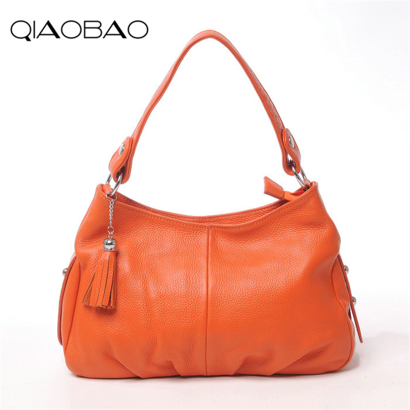 QIAOBAO Designer Women Handbag Female Real Leather Bags Handbags Ladies Portable Shoulder Bag Office Ladies Hobos Bag Totes dermagor fashion designer women handbag female pu leather bags handbags ladies portable shoulder bag office ladies hobos bag tot