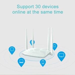 Image 3 - Cioswi Wifi Router Draadloze Repeater Met Externe Antenne Hoge Snelheid Rj45 300Mbps Wlan Router Wi fi Access Point Mobiele Hotspot