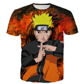 Men Women New Fashion Anime t shirts tees Classic Naruto 3D t shirt tee Male Female Vintage Prints tshirts Harajuku Tops