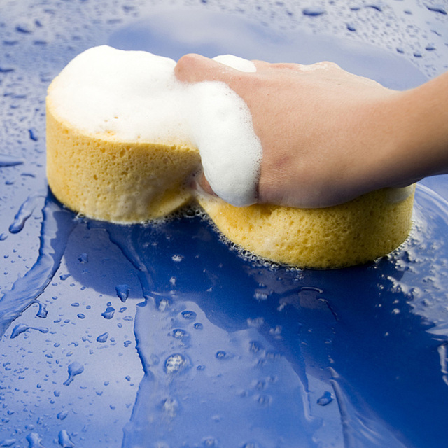 1 Piece Car Wash Sponge 3 Sizes Large Jumbo Giant for Choice Easy Grip To Wash Car Automobile Bicycle Motorcycle Boat And Home