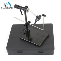 Maximumcatch New Iron Rotary Fly Tying Vice With Heavy Duty Base Fly Hook Tool Fly Tying Vise