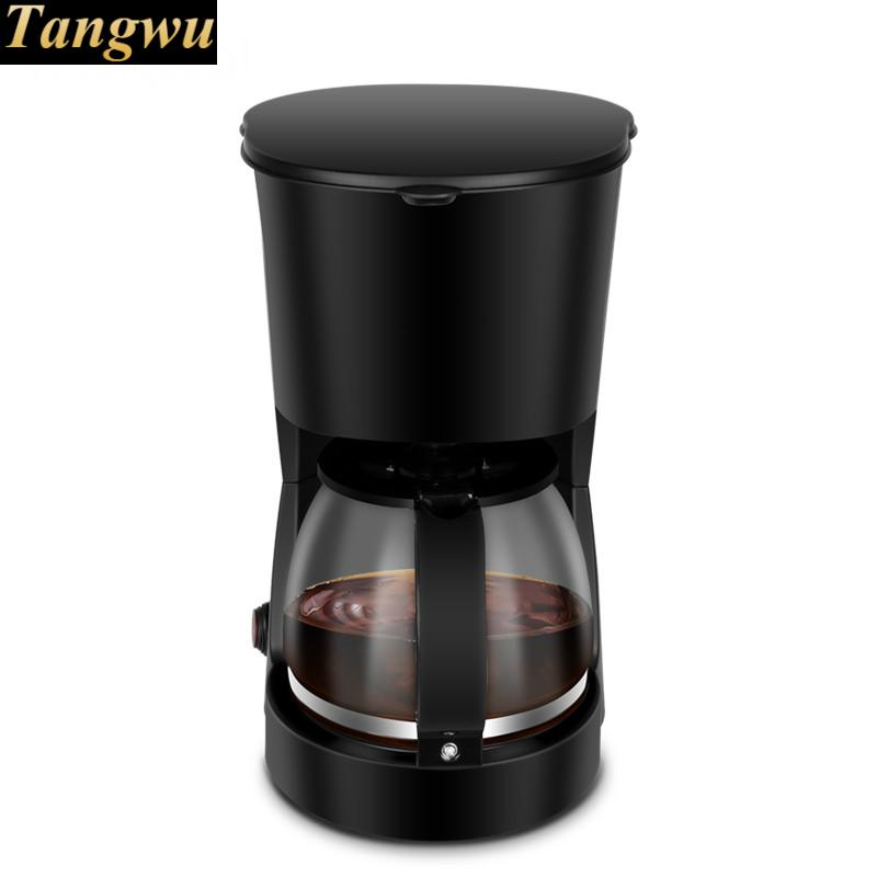 coffee machine is fully automatic American miniature drip coffee machine is fully automatic and convenient for cleaning the nespresso