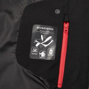 Image 4 - BOSIDENG nowy 90% biały puch gęsi kurtka z kapturem puch gęsi płaszcz dla mężczyzn zagęścić światła znosić wodoodporna wysokiej jakości B80142145