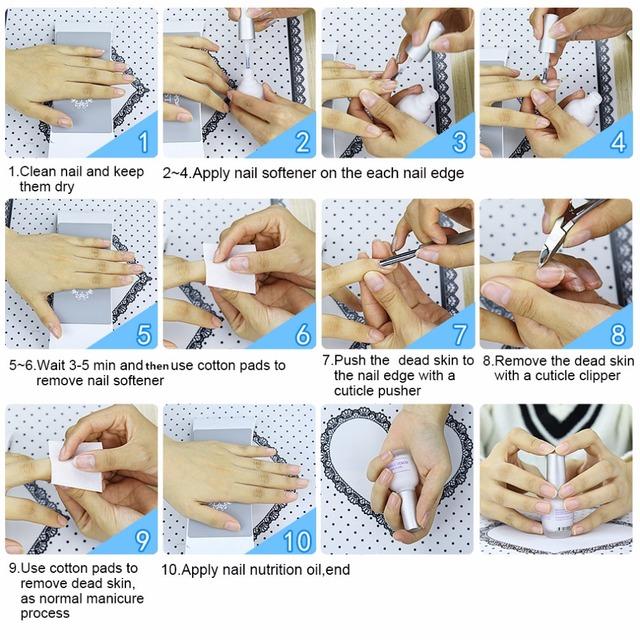 Elite99 12ml Softener Cuticle Remover Finger Tip Deap Skin Soften Oil Nail Polish Oil Gel Varnish Nail Treatment Nail Art Tool