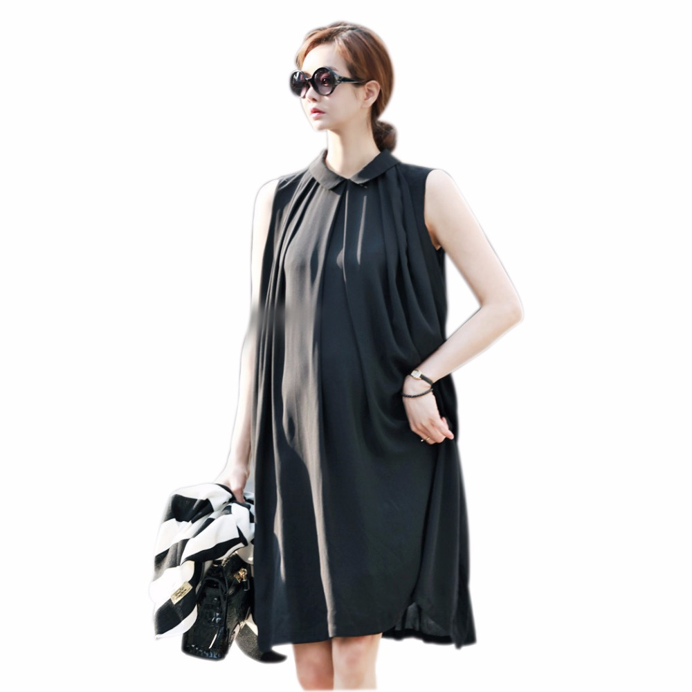 ФОТО 2016 New hot selling chiffon maternity dress pregnant clothing clothes for pregnant vestido plus size pregnancy clothes