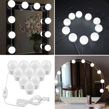Best Lighted Vanity Mirror With USB Port Plug For Dressing And Makeup Artist