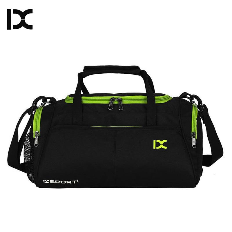 Training Gym Bags Fitness Travel Outdoor Sports Bag Handbags Shoulder Dry Wet shoes For Women Men Sac De Sport Duffel XA77WA