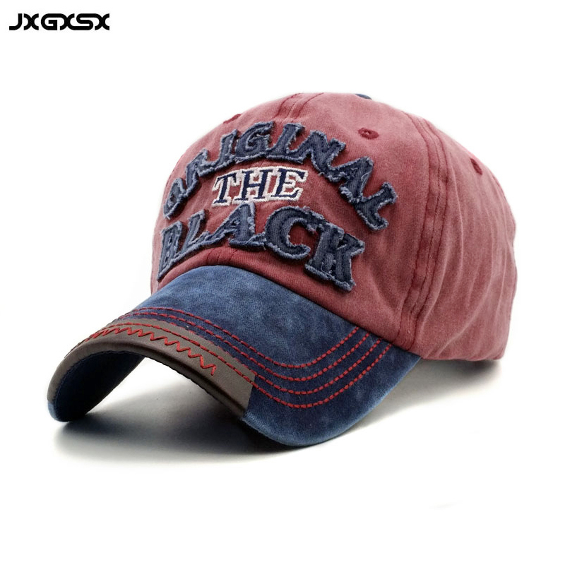 JXGXSX Wholesale Spring High Quality 100% Cotton Summer Brand Casual GorrasBaseball Cap Men Unisex Snapback Hip Hop Fitted Cap