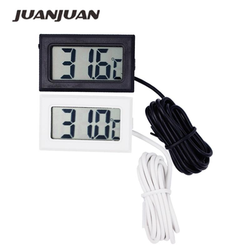 Termometro digitale per congelatore frigorifero Termometro LCD Tester - Strumenti di misura - Fotografia 1