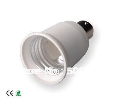 10 шт./лот BA15S штекерным E26 женский BA15S к E26 E27 держатель лампы адаптер